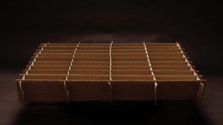 cardboard separator laminated epe